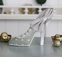 Подставка туфелька зеленая Гранд Презент GM09-J9022B