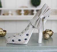 Подставка туфелька бежевая Гранд Презент GM09-J9022C, фото 1