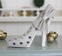 Подставка туфелька бежевая Гранд Презент GM09-J9022C