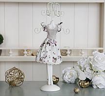 Подставка для украшений платье цветок Гранд Презент GM09-J9021A