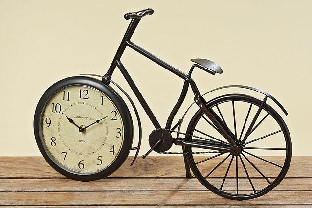 Часы Велосипед металл коричневые L50см 8663300 8663300 8663300