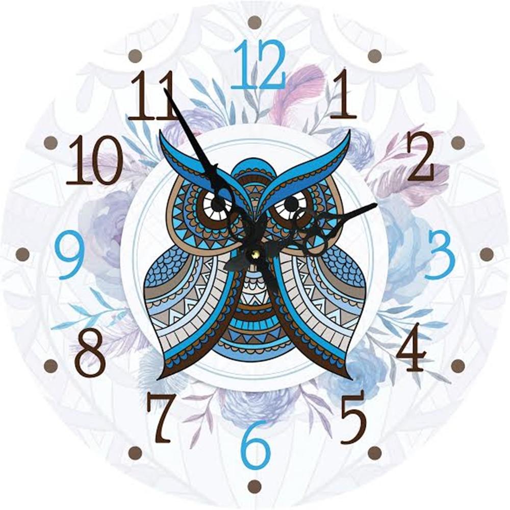 Часы круглые настенные СОВУШКА 60 см d6021 d6021 d6021