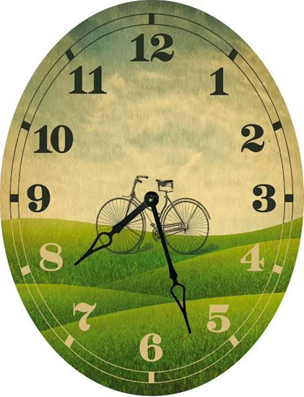 Часы овальные настенные VELO 46*60 d466016 d466016 d466016