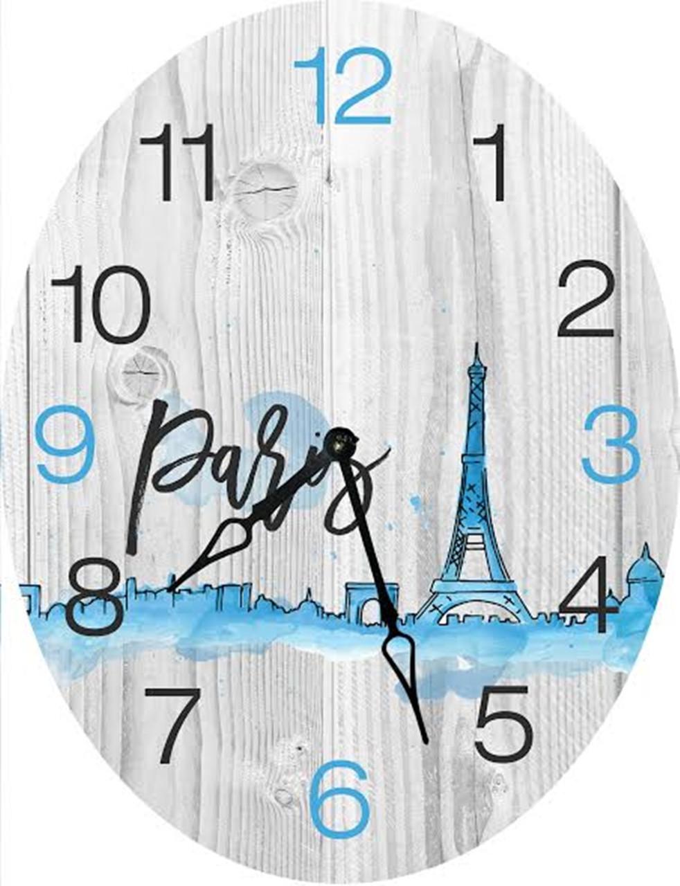 Часы овальные настенные ДАЛЬ 46*60 d466015 d466015 d466015