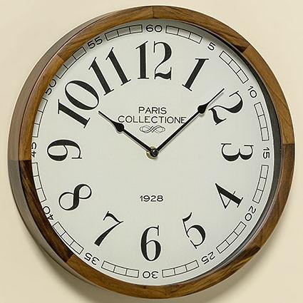 Часы Милли натуральная сосна d32см 1005436 1005436 1005436