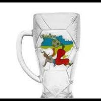 """Кружка пивная ОСЗ """"Футбол-Лига"""" 0,6 л 8211"""