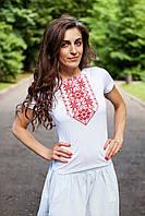 Жіноча вишиванка Подолянка червона, фото 1