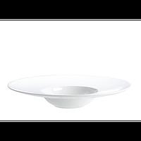 Тарелка Helios Extra White для пасты фарфоровая 300 мл (A7018)