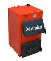 Котел твердотопливный с варочной поверхностью Amica-Твердотопливный котел Амика-Оптима (Амика-Оптима П) 18 квт, фото 1