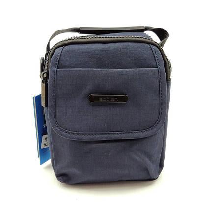 Сумка через плече AoTian 19х14,5х6 см Синяя (s8338/1), фото 2