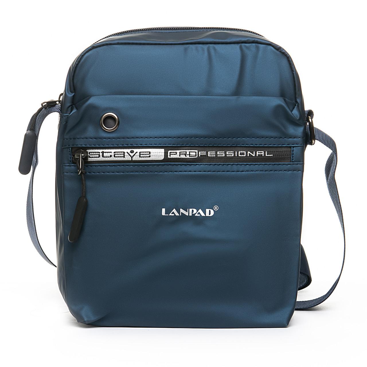 Мужская сумка через плече Lanpad 20 x 25 x 10 см Синий (4062/2)
