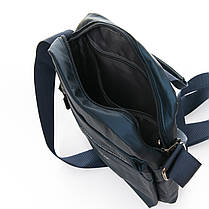 Мужская сумка через плече Lanpad 20 x 25 x 10 см Синий (4062/2), фото 3
