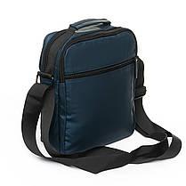 Мужская сумка через плече Lanpad 21 x 27 x 10 см Синий (0675/2), фото 2