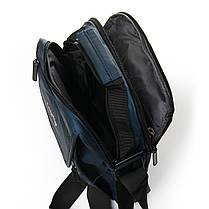 Мужская сумка через плече Lanpad 21 x 27 x 10 см Синий (0675/2), фото 3