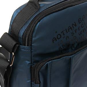 Мужская сумка через плече Lanpad 17 x 23 x 10 см Синий (6285/2), фото 2
