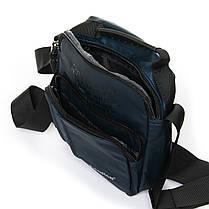 Мужская сумка через плече Lanpad 17 x 23 x 10 см Синий (6285/2), фото 3