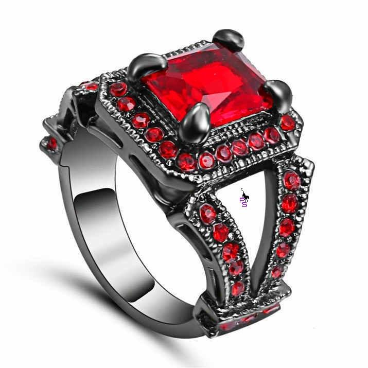 Роскошное кольцо перстень с красным камнем