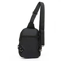 Мужская сумка через плече Lanpad 18 x 28 x 10 см Черный (8329/1), фото 2