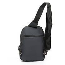 Мужская сумка через плече Lanpad 18 x 28 x 10 см Серый (8329/3), фото 2