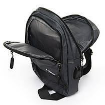 Мужская сумка через плече Lanpad 18 x 28 x 10 см Серый (8329/3), фото 3