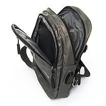 Мужская сумка через плече Lanpad 18 x 28 x 10 см Золотой (8329/4), фото 3