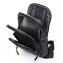 Мужская сумка через плече Lanpad 18 x 32 x 13 см Серый (4070/3), фото 3