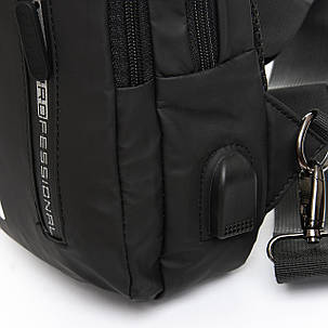 Мужская сумка через плече Lanpad 18 x 30 x 10 см Черный (6281/1), фото 2