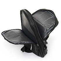 Мужская сумка через плече Lanpad 18 x 30 x 10 см Черный (6281/1), фото 3