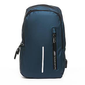 Мужская сумка через плече Lanpad 18 x 30 x 10 см Синий (6281/2), фото 2