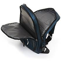 Мужская сумка через плече Lanpad 18 x 30 x 10 см Синий (6281/2), фото 3