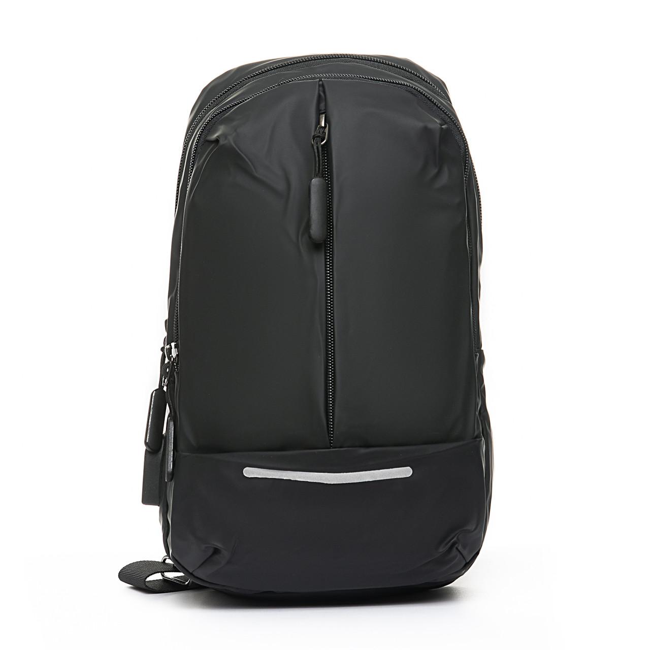 Мужская сумка через плече Lanpad 18 x 32 x 10 см Черный (4066/1)