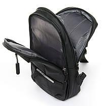 Мужская сумка через плече Lanpad 18 x 32 x 10 см Черный (4066/1), фото 3