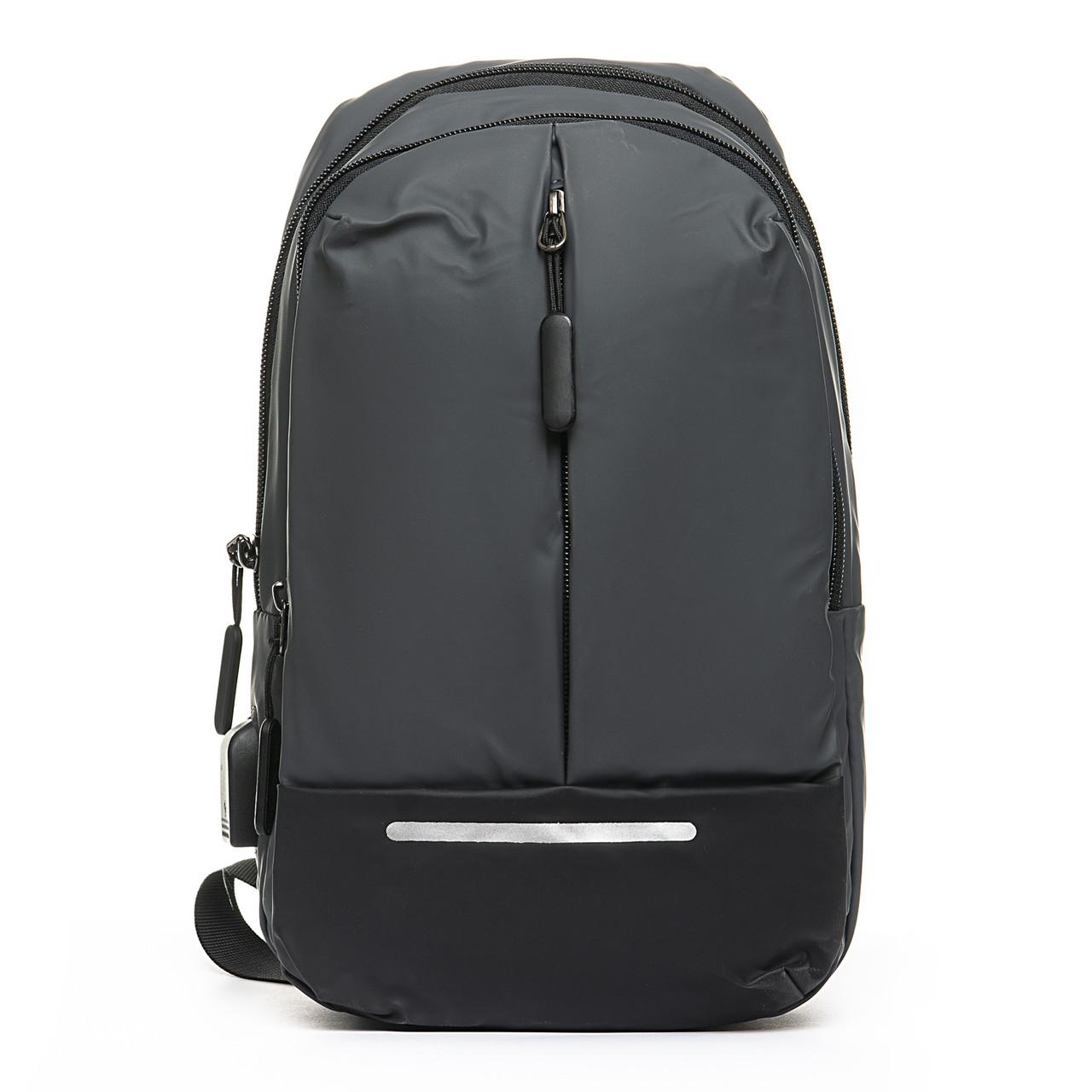 Мужская сумка через плече Lanpad 18 x 32 x 10 см Серый (4066/3)