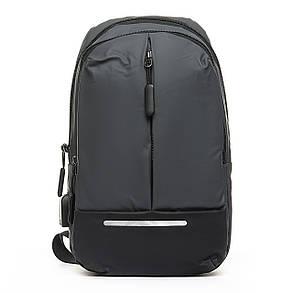 Мужская сумка через плече Lanpad 18 x 32 x 10 см Серый (4066/3), фото 2