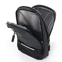 Мужская сумка через плече Lanpad 18 x 32 x 10 см Серый (4066/3), фото 3