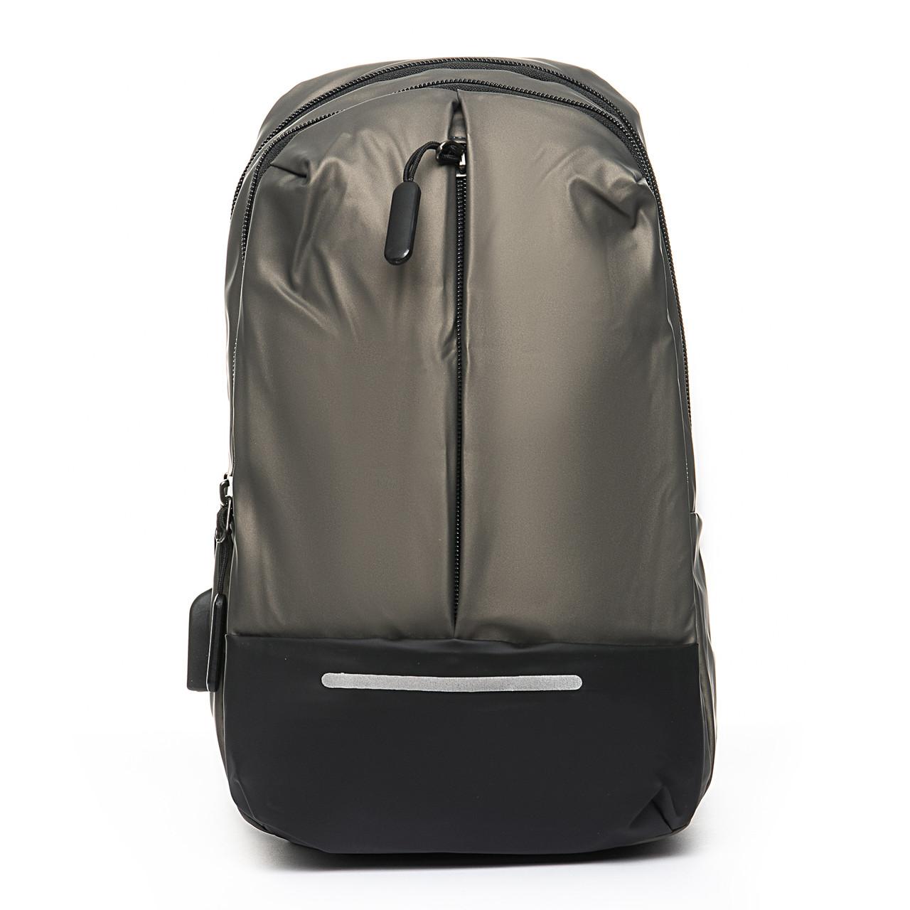 Мужская сумка через плече Lanpad 18 x 32 x 10 см Золотой (4066/4)