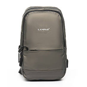 Мужская сумка через плече Lanpad 18 x 30 x 10 см Золотой (4066/4), фото 2
