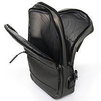 Мужская сумка через плече Lanpad 18 x 30 x 10 см Золотой (4066/4), фото 3