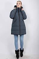 Женская зимняя куртка-пуховик на синтепоне, рр 48-58
