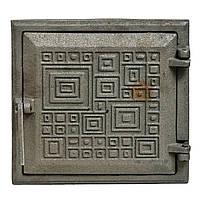 "Дверца чугунная топочная (М) (72-К) ""Модерн""  260х250 230х220"