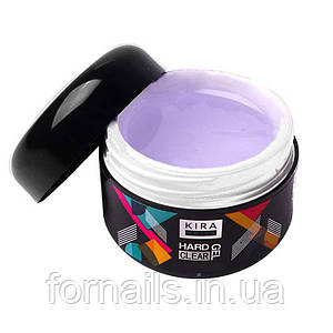 Kira Nails Hard Gel, Clear, 50 г