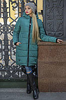 Модная женская зимняя куртка-пуховик  рр 42-56