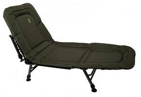 Розкладушка-ліжко коропова Elektrostatyk L6 з регульованою спинкою, 6 ніжок, навантаження до 100 кг