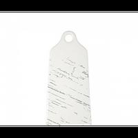 Доска фарфоровая для подачи «Светлый камень» 300 x 125 мм Helios