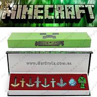 """Подарочный набор Minecraft - """"Minecraft Box"""" - 9 шт!, фото 1"""