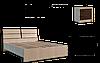 """Кровать """"Клеопатра"""" 1400+ламели"""