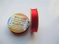 Нить для бисера Лантан (Lantan). Красный 100 метров, фото 1