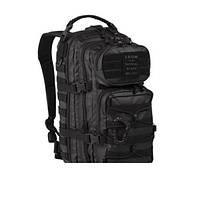 Mil-Tec Рюкзак US ASSAULT PACK SM TACTICAL BLACK 20 літрів (14002088), Німеччина