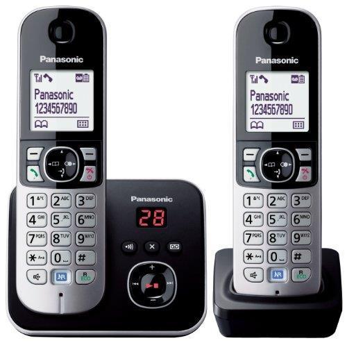 Беспроводной телефон Panasonic KX-TG6822EB