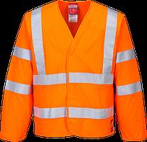 Антистатическая светоотражающая огнестойкая куртка FR85
